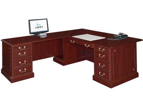 office desk with return bedford l shaped office desk l return large bed 3048l