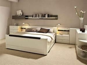 Tete De Lit Rangement : la t te de lit avec rangement un gain d 39 espace d co ~ Teatrodelosmanantiales.com Idées de Décoration