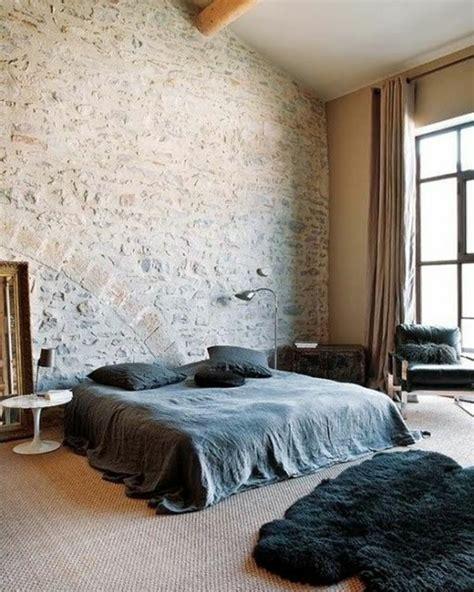 chambre avec dans la chambre le mur en apparente en 57 photos