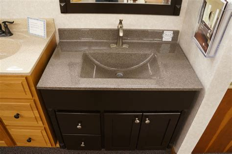 fun style vanity top design  onyx displayed