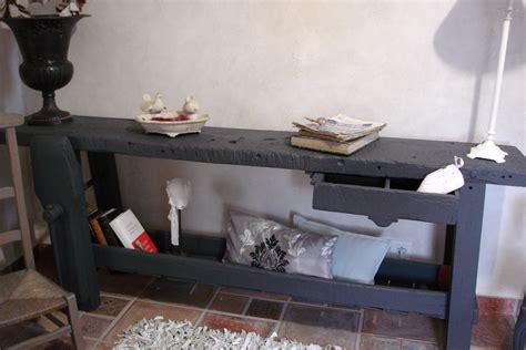 salle de bain dans la chambre etabli servant de console photo 1 8 établi restauré