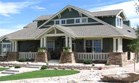 home style craftsman house plans single story craftsman