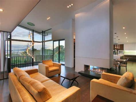 modern  zealand glass house frames luxurious features