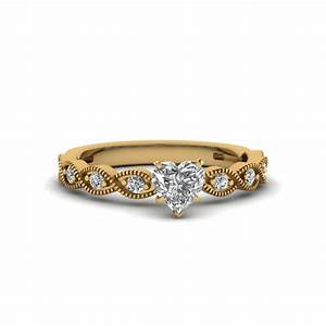 Butterfly Milgrain Oval With Black Diamond Engagement Ring ...