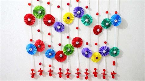 paper wall hanging ideas paper craft ideas  room