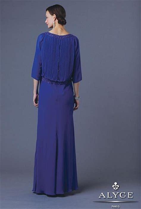 Alyce Jean De Lys  Blouson Evening  Ee  Dress Ee   French Novelty