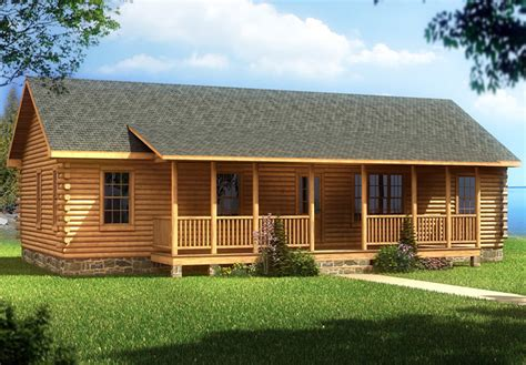 Cabin Mobile Homes With Aesthetic Design And Good Comfort