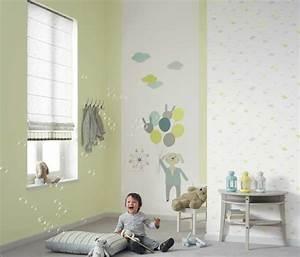 Papier Peint Bébé Garcon : frise chambre ba papier collection avec papier peint chambre b b gar on photo papier peint ~ Nature-et-papiers.com Idées de Décoration
