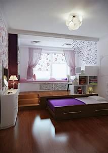 Jugendzimmer Mit Podest : ein kinderzimmer mit podest das ein rollbett versteckt ~ Michelbontemps.com Haus und Dekorationen