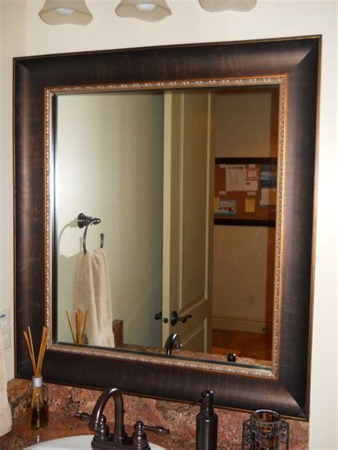 Bathroom Mirror Frame Kits by Mirror Frame Kit Traditional Bathroom Salt Lake City