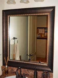 Mirror frame kit traditional bathroom salt lake city for Mirror framing kits for bathrooms