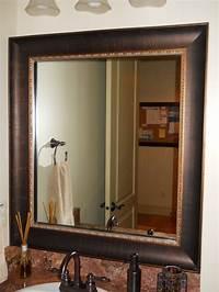 frames for mirrors Mirror Frame Kit - Traditional - Bathroom - Salt Lake City ...