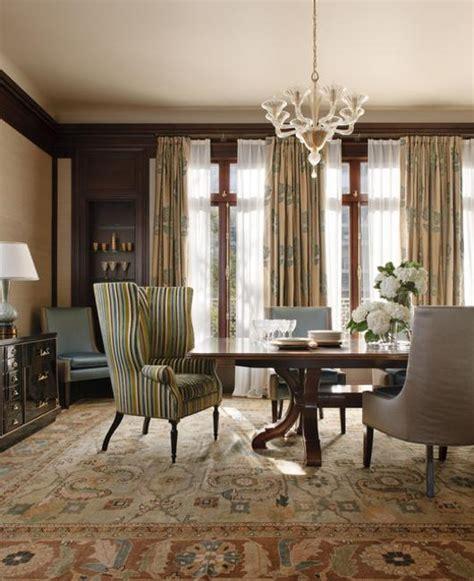 modern window treatments  dining room decorating ideas