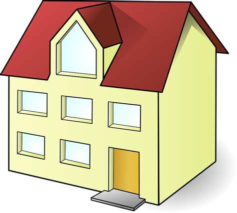 gambar vektor gratis bangunan rumah modern nyata