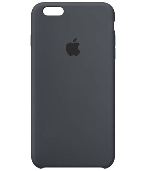 apple silicone case for iphone 6s charcoal gray buy
