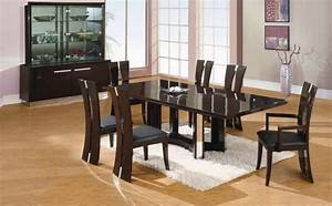 modern black dining room sets marceladickcom With black dining room furniture sets
