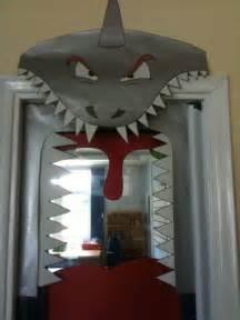 Halloween Classroom Door Decorating Contest by Classroom Door Shark Theme Project