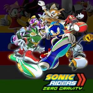 Wallpaper: Sonic Riders: Zero Gravity by DaBlackBlur on ...