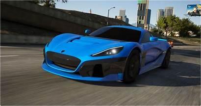 Concept Gta Rimac Cars Gta6 Gta5 Vector
