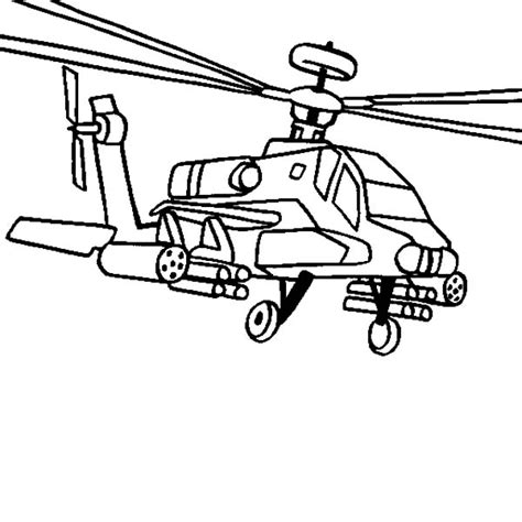 Apache Helicopter Kleurplaat by Ah 64 Apache Helicopter Coloring Pages Ah 64 Apache