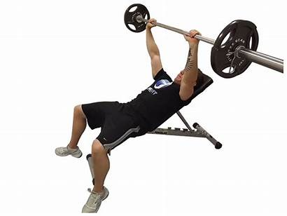 Incline Bench Press Barbell Dumbbell Exercise Form