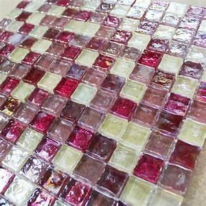 Carrelage Mosaique Pas Cher : mosa que cherry p te de verre carrelage mosaique pas cher ~ Dailycaller-alerts.com Idées de Décoration