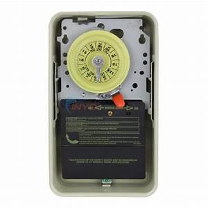 Intermatic Timer 220 Volt Metal Enclosure