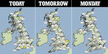 uk weather sees snow in stretch from to scotland as