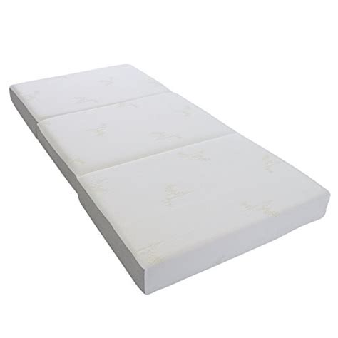 tri fold mattress milliard 6 inch memory foam tri fold mattress with ultra