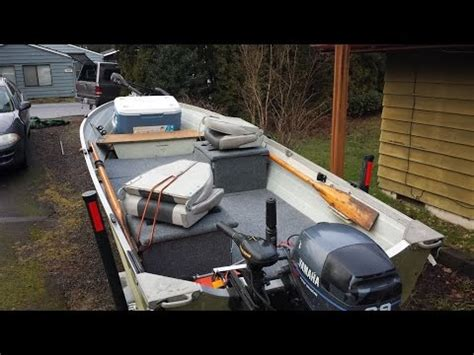 Aluminum Fishing Boat Restoration by Twist3d Fishing 14ft Starcraft Aluminum Boat Remodel