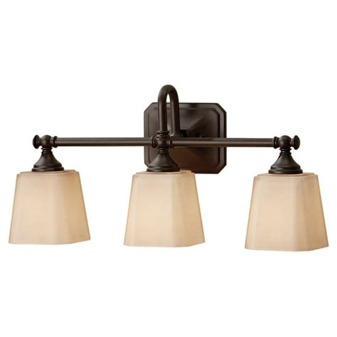 concord collection 3 light 21 quot rubbed bronze bathroom