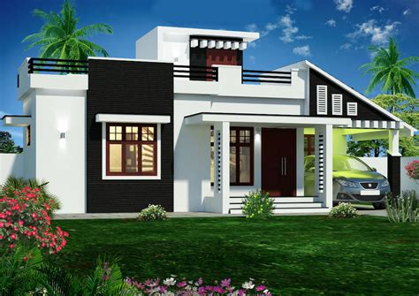 Home Design Free : 1600 Square Feet Double Floor Box Type Home Designs