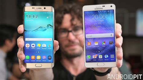 test comparatif samsung galaxy note 6 galaxy note 4 androidpit