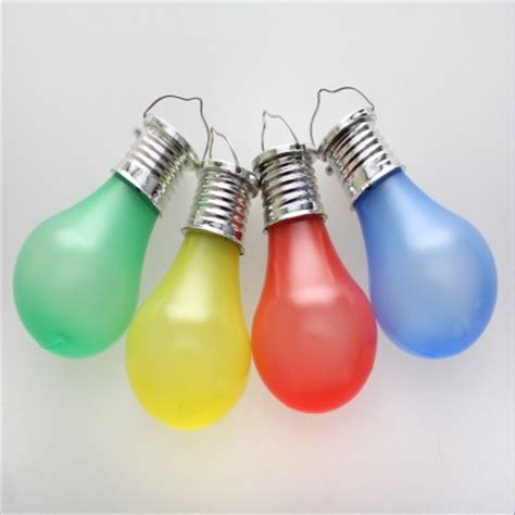 Solar Light Bulbs by Solar Hanging Colour Light Bulbs