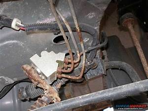 2006 Ford Taurus Brake Line Diagram