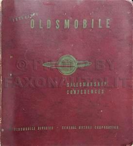 1949 Oldsmobile Feature Folio Dealer Album Original
