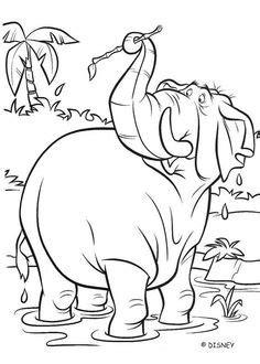 image result    draw baloo jungle book disney