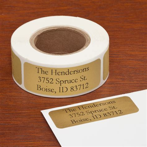 Personalized Large Print Address Labels, Set of 200   Easy