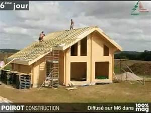 Maison En Bois Construction : construction d 39 une maison bois en kit youtube ~ Melissatoandfro.com Idées de Décoration