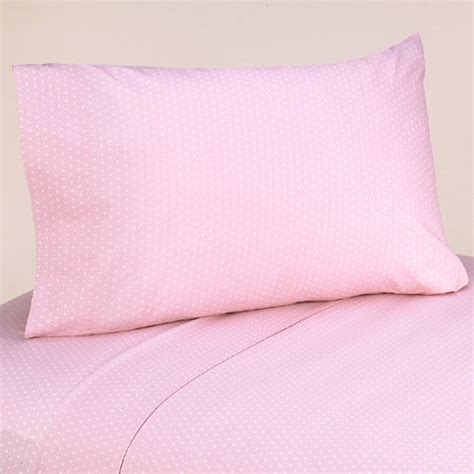 pink brown polka dot cirlce bedding twin or full queen