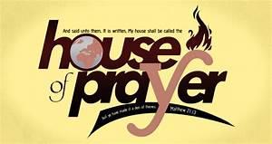 Prayer Pointers  Matthew 21 13a