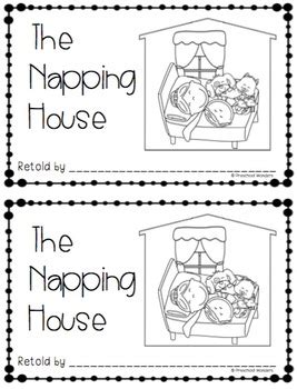 the napping house retelling pack by preschool wonders tpt 932 | original 2807734 3