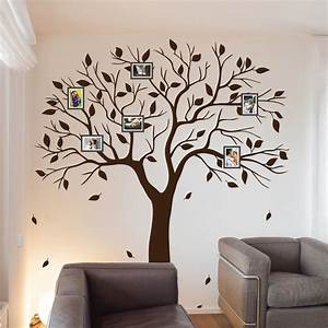 family tree wall decal family photo wall sticker branches With family wall decal