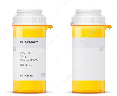 pill bottle label template 9 pill bottle label templates design templates free premium templates