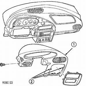 My 2000 Chrysler Sebring Instrument Panel Pc 194 Light