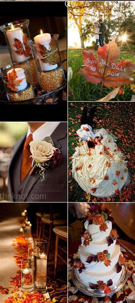 30 Fall Wedding Decor Ideas for Your Wedding Trendy