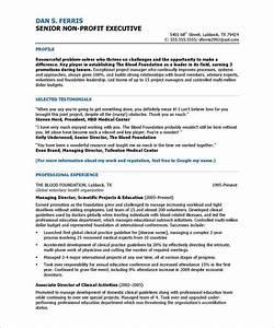 program director page1 non profit resume samples With non profit board of directors resume sample