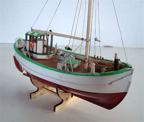 Wooden Model Fishing Boat Kits by Nordic Class Boats Nordic Small Fishing Trawler Svea