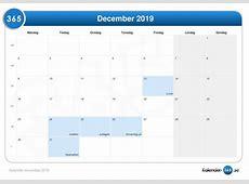 Kalender december 2019