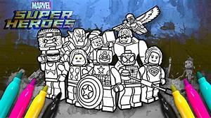 Lego Marvel Superheroes 2 Coloring Book